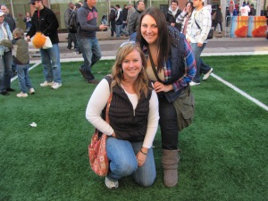 Becca was a wonderful host when I stayed in Indy for the Super Bowl festivities. We had a blast!