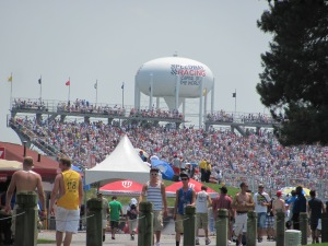 In May I went to my first Indy 500! It was the hottest Indy 500 on record, but we still had fun while we were melting.