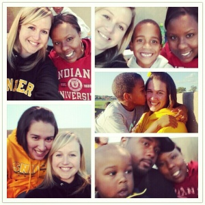 Went to a lot of Snider and Northrop football games with Nikkie and Daylan in 2012! The Green family even came out for a Snider game!