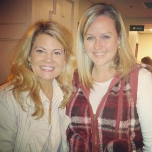 One of my favorite weekends of 2012 was the women's conference I went to with my friend Ronna. Not only was it spiritually uplifting, but I got to meet Lisa Welchel from The Facts of Life and more recently, Survivor!