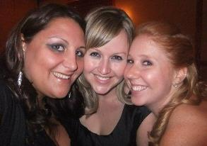 "Becca, me and Heather - these two girls are two of my true best friends. They know the meaning of the word ""friendship."""