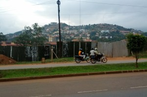 The city of Kampala. Please pray for our safety.