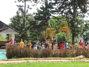 In October we took the students on a spiritual retreat.