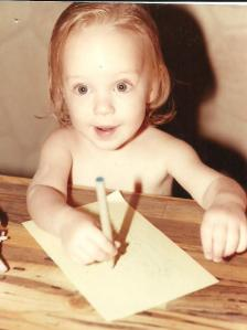 See, I've been a writer for a very long time!